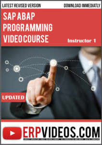 SAP-ABAP-Programming-Video-Course