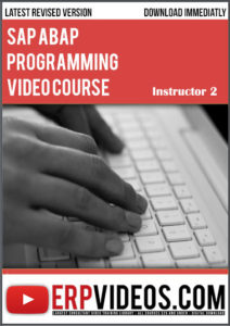 SAP-ABAP-Programming-Video-Course-Instructor-2