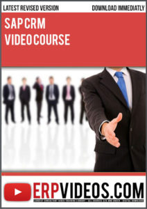 SAP-CRM-Video-Course