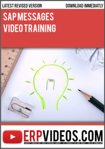 SAP-Messages-Video-Training