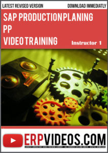 SAP-PP-Production-Planing-Video-Training