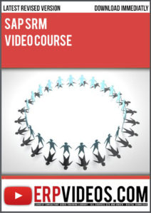 SAP-SRM-Video-Course
