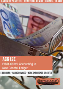 AC612E - Profit Center Accounting in New General Ledger Accounting
