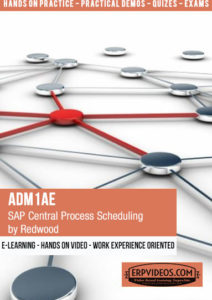 ADM1AE - SAP Central Process Scheduling by Redwood