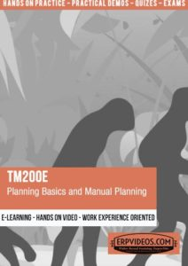 TM200E - Planning Basics and Manual Planning