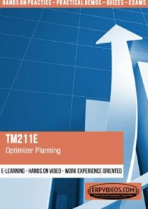 TM211E - Optimizer Planning