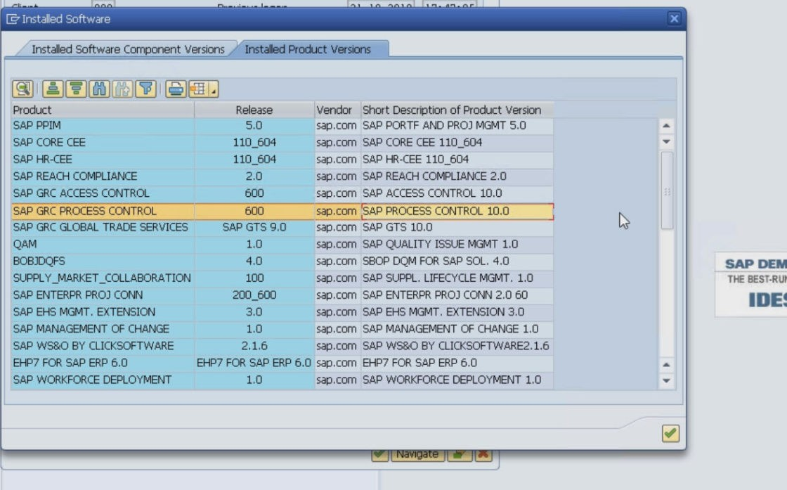 ECC Ehp7 IDES - VMWare Download - Fully Configured and Activated - Personal  SAP ECC Ehp7 Server - Faster than SAP Access